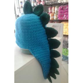 b5c1859488867 Touca Dinossauro Em Croché Feito A Mão