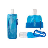 Botella Tipo Bolsa Reutilizable Con Gancho Para Colgat