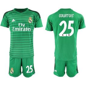 1dccaf644e05f Genial Jersey Real Madrid Portero Verde 2019 Courtois 25
