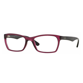 57982588167a9 Armacao De Oculos Feminina Rayban Lilas - Óculos no Mercado Livre Brasil