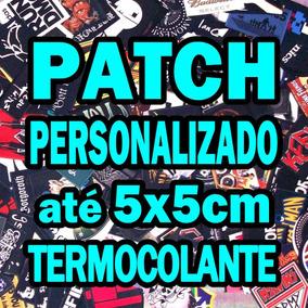 10 Patches Termocolante Personalizados 5x5cm