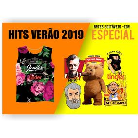 Abadas Vetores Editáveis 2019 - Fabio Assunção Corel