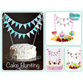 Banderines Para Pastel - Cake Topper