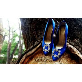 864b54fe Zapatillas Manolo Blahnik Crepusculo Subasta - Zapatos en Mercado ...