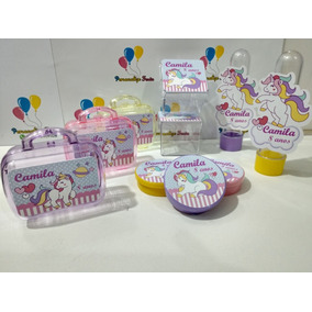 Kit*festa Infantil Personalizado Tema Unicórnio (160 Itens)