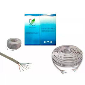 Cable Utp Cat5 100% Cobre Marca Surelink 25 Metros Bagc