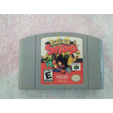 Juego Pokemon Snap. Cinta Nintendo 64.