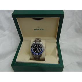 Reloj Rolex Gmt Ii Batman Automatico Eta