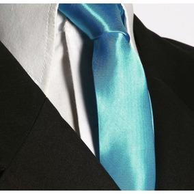 Gravata Slim Azul Tiffany Casamento - Gravata Slim no Mercado Livre ... 8b12f365d1