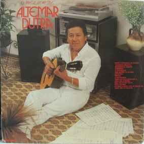 Lp Altemar Dutra O Melhor 1982 Cp. Vg Lp Ex