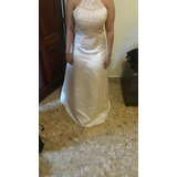 Vestido Formal Cream