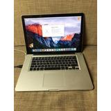 Macbook Pro 15 Pulgadas 4gb Ram 120gb Ssd Con Detalle Leer