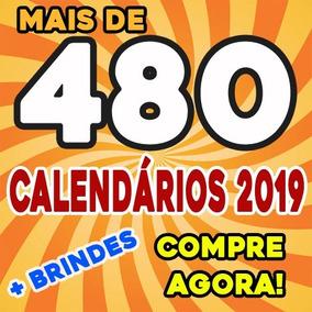 Calendários 2019 Moldura Png São 480 Máscaras Digitais