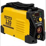 Máquina Inversora De Solda Portatil 120a Digital 220v Lynus