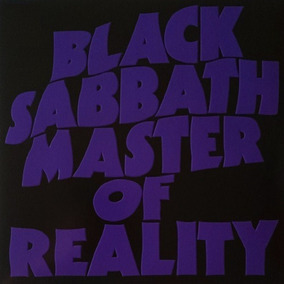 Lp Black Sabbath Master Of Reality 180g Vinyl Verde