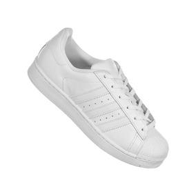 67aed856eca Adidas Superstar Branco E Rosa Claro - Tênis no Mercado Livre Brasil