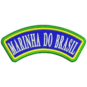 Brasao Marinha Do Brasil - Artigos de Armarinho no Mercado Livre Brasil bac9fe7bfd7
