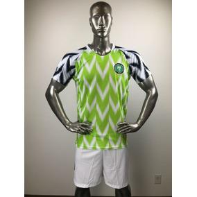 Nigeria Visita Uniforme Futbol Jersey Playera Personalizada 51d1f53d89269