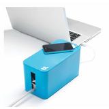 Cablebox Mini Protector, Cubierta Para Cables Color Azul
