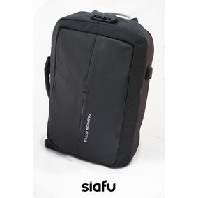 Mochila Antirrobo Viaje Bolsas Backpack Impermeable