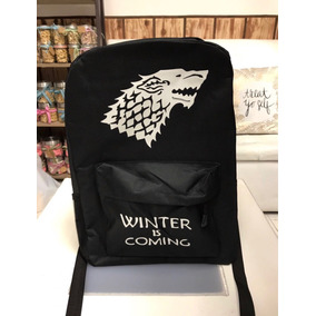 Bolsa Mochila Backpack Escolar Game Of Thrones