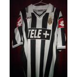 Antigua Camiseta Futbol Rara Juventus 10 Zidane Original f18aecac5b068