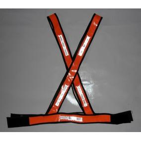 Colete Refletivo X Sinalizador Fluorecente Cx C/ 10 Unid
