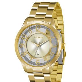 ca15cb426ba Relogio Feminino Analogico Quartz Lince - Relógios no Mercado Livre ...