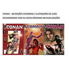 Conan A Lenda Colorido Nº 0 A 07, 176 Páginas