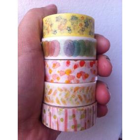Washi Tape Aquareladas