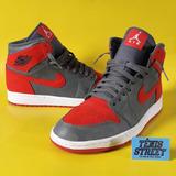 Tênis Nike Air Jordan 1 - Camo 3m Bred - Camuflado   Vermelh aff1357f96b