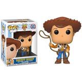 Funko Pop Sheriff Woody #522 Toy Story 4 Pixar Disney Cine