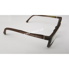 debb118eac382 Armação Oculos P  Grau Masculino Emporio Armani Premium Leve
