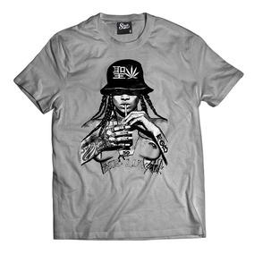 e1b414419d Camisa Rihanna Nude Camiseta Tumblr Swag Rap Hip-hop Bklyn