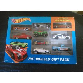 Caja De Carros Hot Wheels. 9 Carritos. Nueva Original