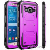 For Samsung Galaxy J3 Emerge - Purple - Caso De J3 Sams-9006