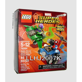 Spider-man Vs. Green Globin Mighty Micros Lego 76064 Baf