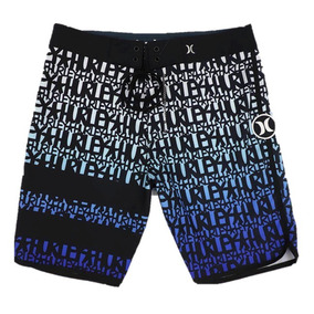 Bermuda Shorts Hurley Pantom Elastano Surf Original