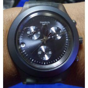 f5e2c7fcffc Relógio Swatch Irony Aluminium Azul - Relógios no Mercado Livre Brasil