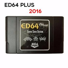 Ed64 Plus Enhanced P/ N64 Com Cartão 8g - Completão !!!