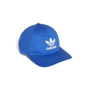 Boné adidas Originals Trefoil Azul Aba Curva c0762c08b2f