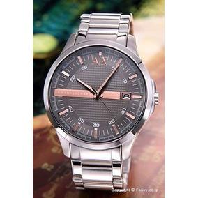 f3e6c709f541a Relogio Armani Exchange Ax5110 Diamantes Bronze Na Caixa - Relógios ...