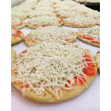 Mini Pizza Brotinho Congelada -13cm - 2 Sabores 100 Unidades
