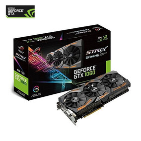 Tarjeta De Vídeo Asus Geforce Gtx 1060 6gb Ddr5 Strix