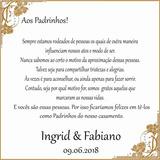 Caixinha Agradecimento Padrinho Casamento No Mercado Livre Brasil