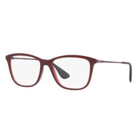 Armação Oculos Grau Ray Ban Rb7135 5699 54 Bordô Brilho e16aab27b8