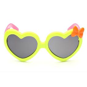 f670ace214790 Óculos De Sol Coração Verde Ou Amarelo - Óculos no Mercado Livre Brasil