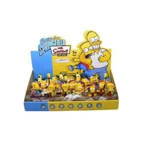 Simpsons Bonecos Kit Com 2 Bonecos Miniaturas