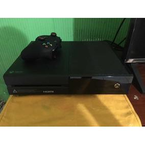 Xbox One 500gb Semi-novo Com Kinect E Jogos