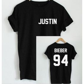 Playera Justin Bieber 94 C/numero **doble Impresion** Tour